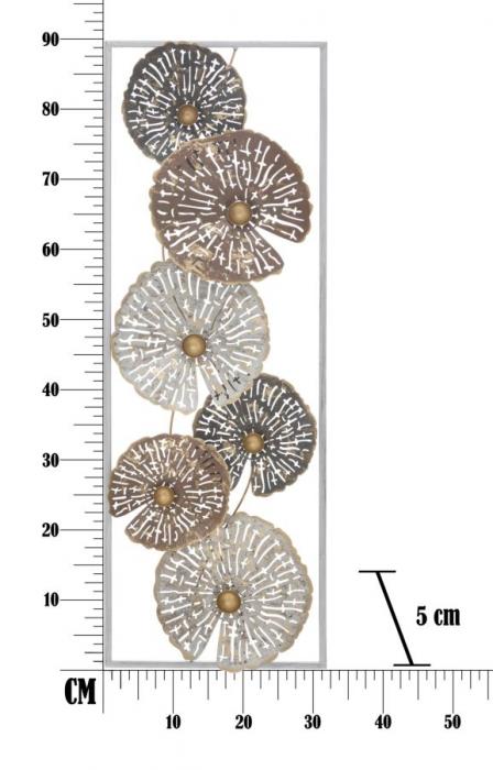 Decoratiune de perete OX -A-(cm) 31X5X89,5 6