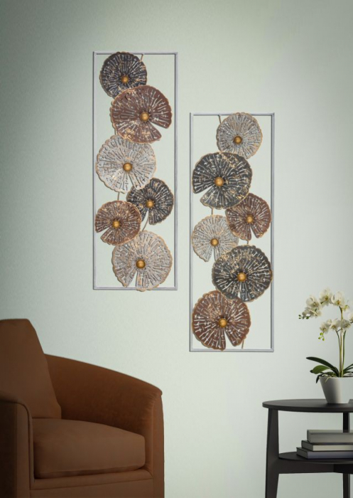 Decoratiune de perete OX -A-(cm) 31X5X89,5 5