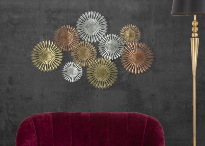 Decoratiune de perete OXY -B- (cm) 114X5X74 6