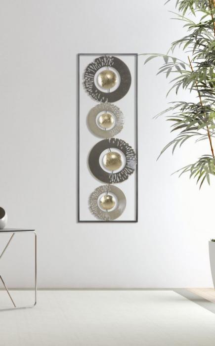 Decoratiune de perete RING (cm) 31X3X89,5 7