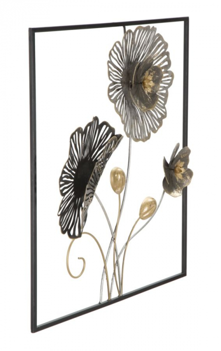 Decoratiune de perete SQUARE (cm) 50X5,5X50 1