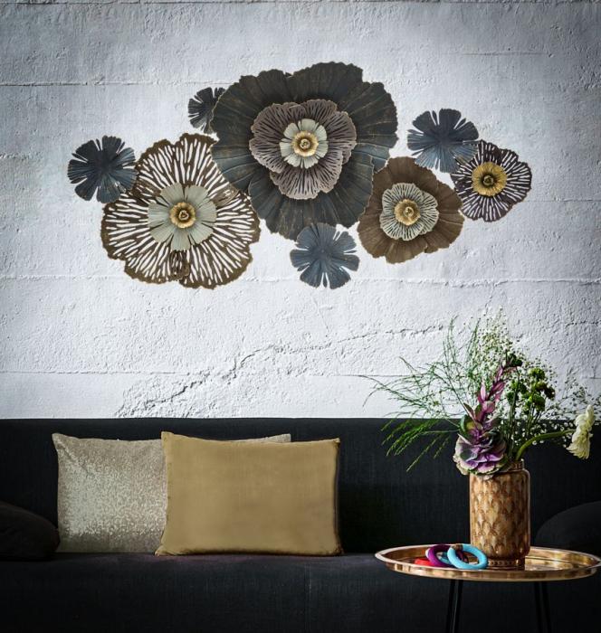 Decoratiune de perete TOD (cm) 132,5X10X67,5 5