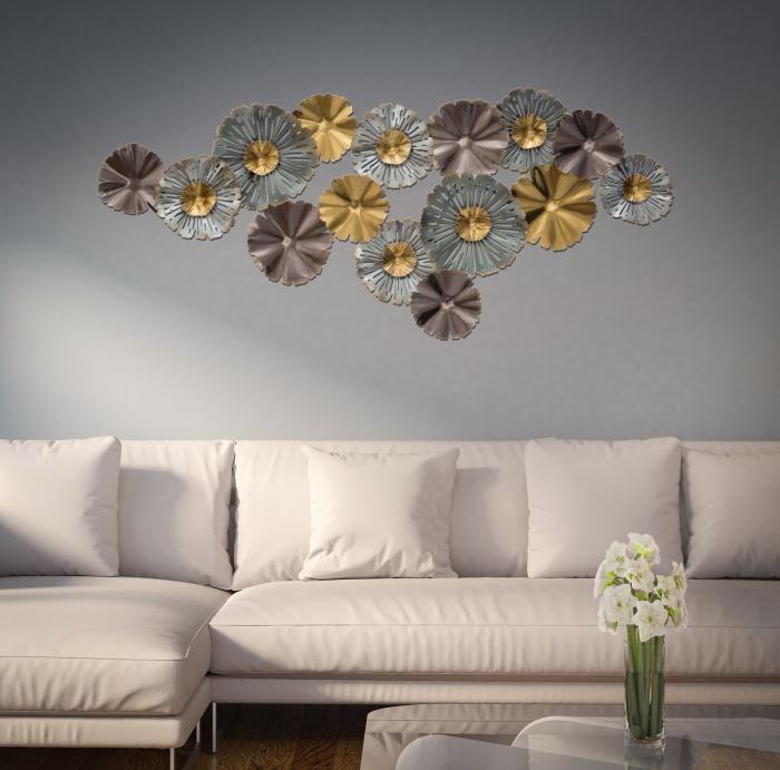 Decoratiune de perete TORH (cm) 152X9X66 5