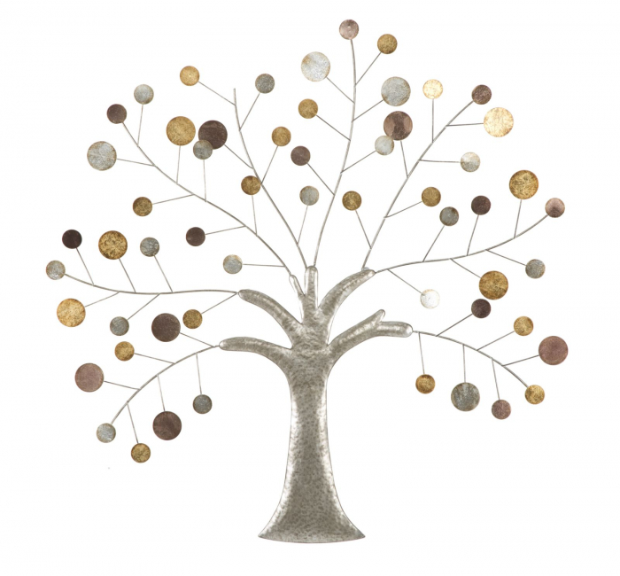 Decoratiune de perete TREE (cm) 88X2,5X88 0
