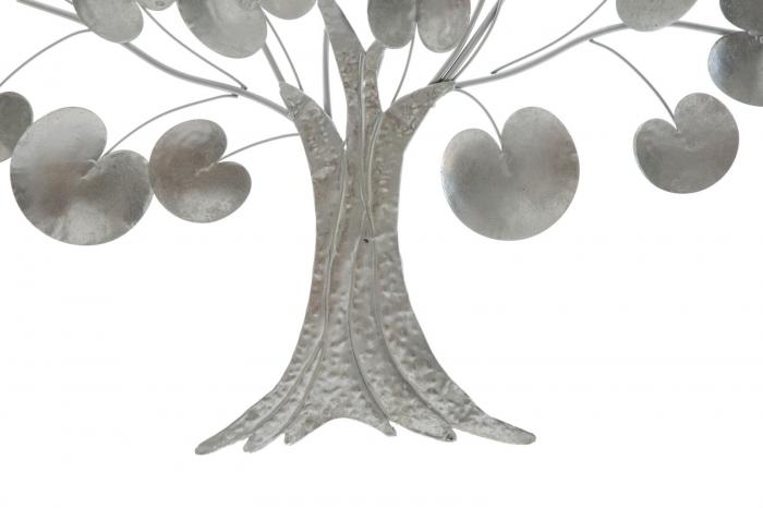 Decoratiune de perete TREE OF LIFE  SILVER (cm) 87,5X3,5X93 5