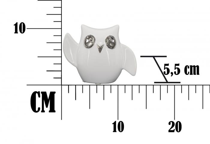 Decoratiune FUNNY OWL -A- (cm) 13X5,5X10,5  5