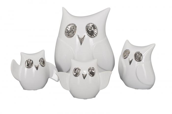 Decoratiune FUNNY OWL -A- (cm) 13X5,5X10,5  4