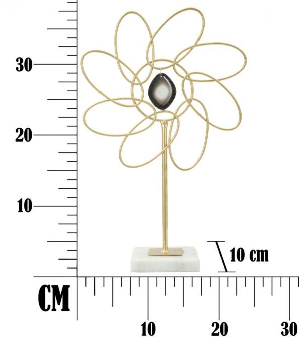 Decoratiune GLAM DAISY (cm) 24X10X37,5  6