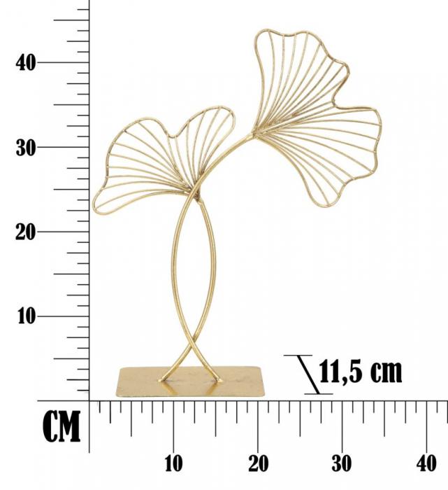 Decoratiune LEAF GLAM (cm) 35X11,5X44 8