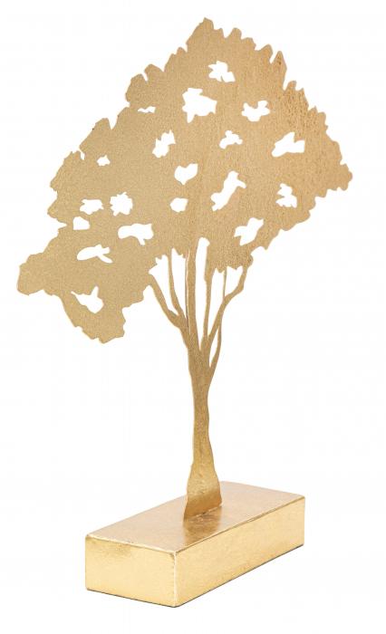 Decoratiune LEAF TREE PLAN CM 43,5X8X41,5 , Mauro Ferretti [4]