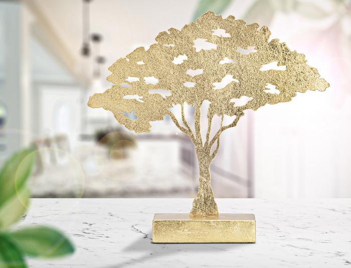 Decoratiune LEAF TREE PLAN CM 43,5X8X41,5 , Mauro Ferretti [0]