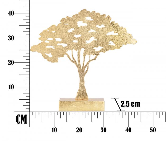 Decoratiune LEAF TREE PLAN CM 43,5X8X41,5 , Mauro Ferretti [7]