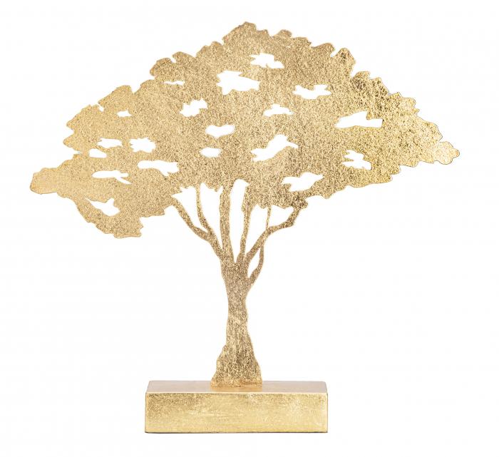 Decoratiune LEAF TREE PLAN CM 43,5X8X41,5 , Mauro Ferretti [6]