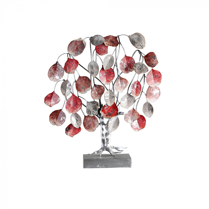 Decoratiune LOVE TREE, metal, 51x13x45 cm 0
