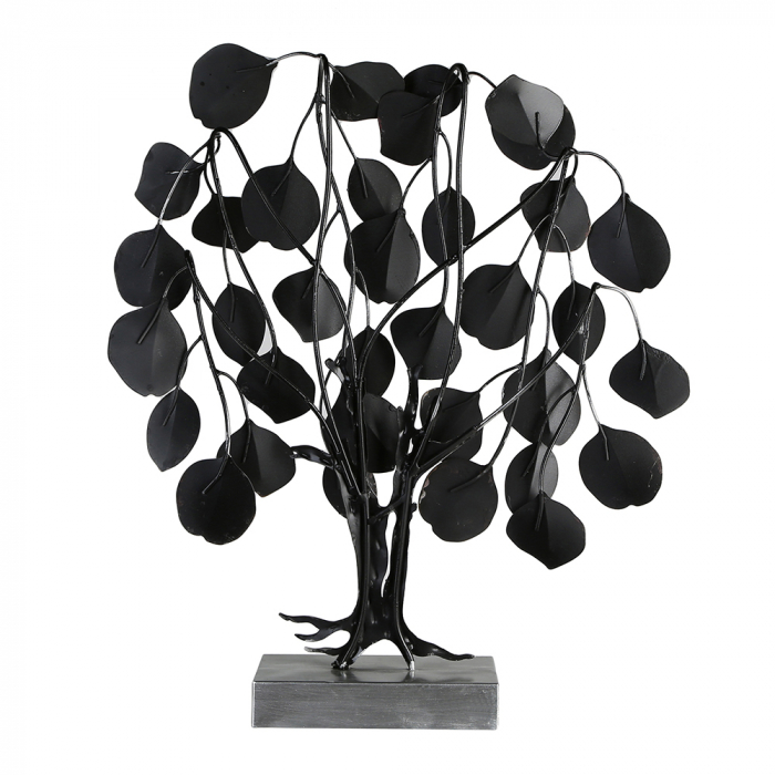 Decoratiune LOVE TREE, metal, 51x13x45 cm 3