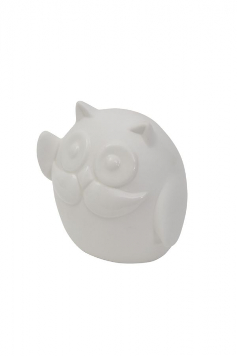 Decoratiune OWL HELLO (cm) 9,5X6,5X8,5  2