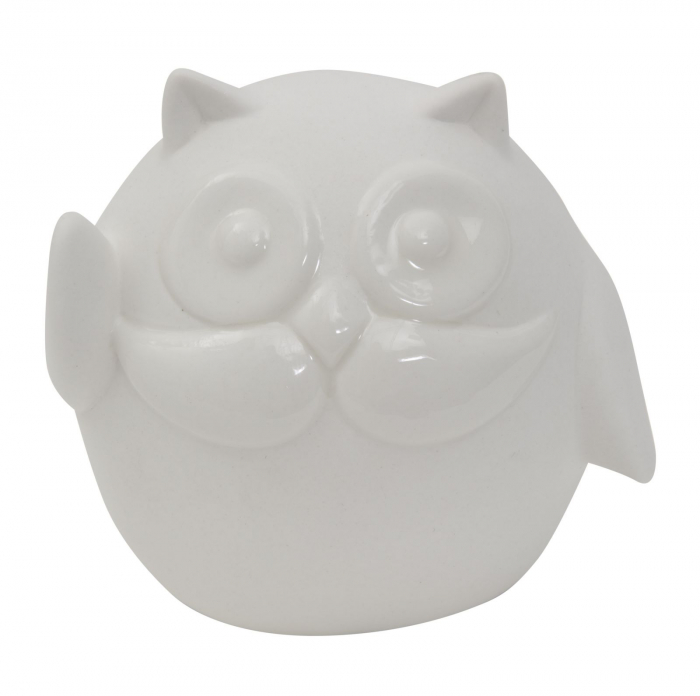 Decoratiune OWL HELLO (cm) 9,5X6,5X8,5  0