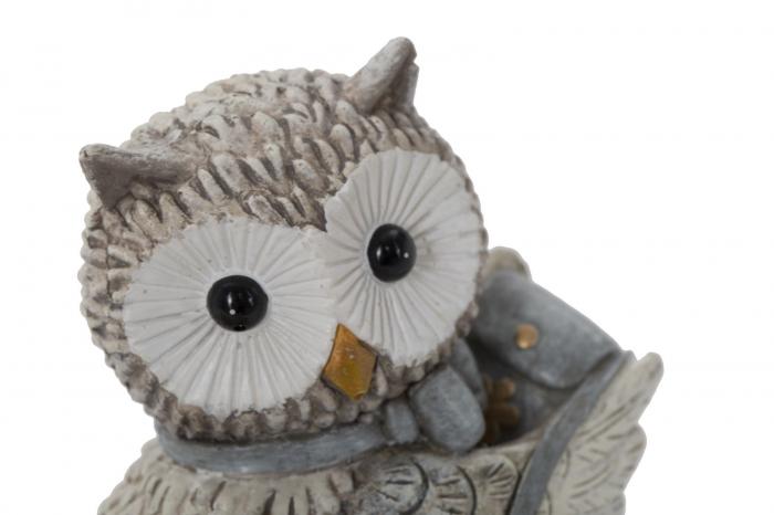 Decoratiune OWL KEN COUPLE (cm) 10,5X7X8,5 4
