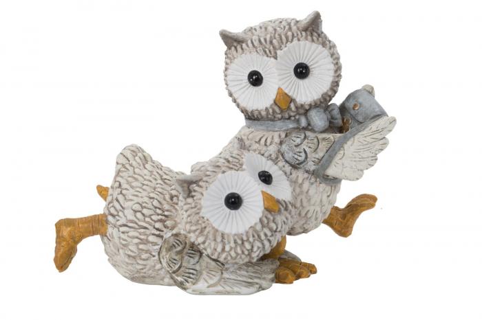 Decoratiune OWL KEN COUPLE (cm) 10,5X7X8,5 0