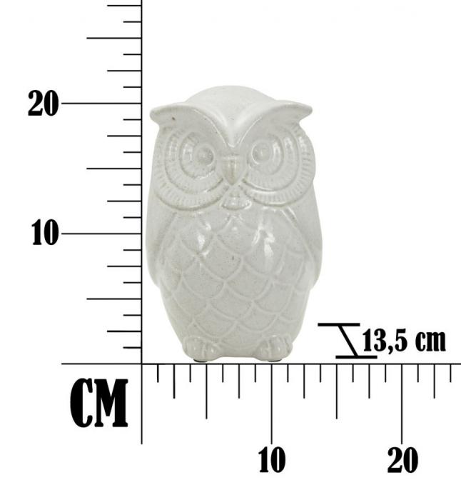 Decoratiune OWL SAND B (cm) Ø 13,5X21  6