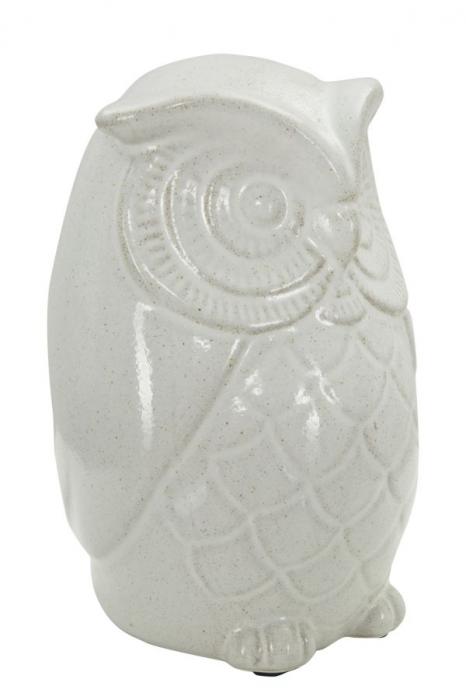 Decoratiune OWL SAND B (cm) Ø 13,5X21  1