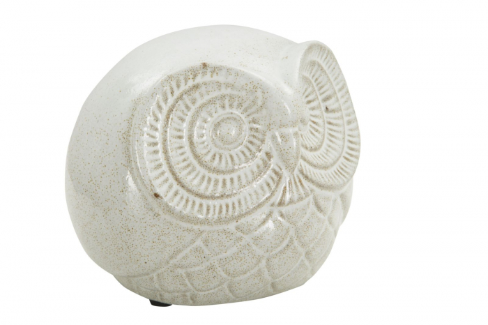 Decoratiune OWL SAND B (cm) Ø 15,5X12,5  1