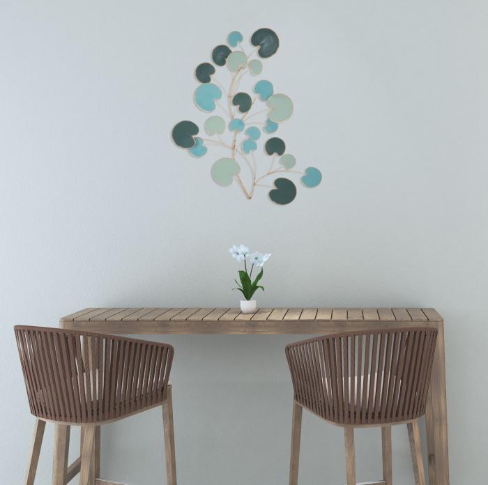 Decoratiune pentru perete APPLE, 75X2.5X85 cm, Mauro Ferretti 0