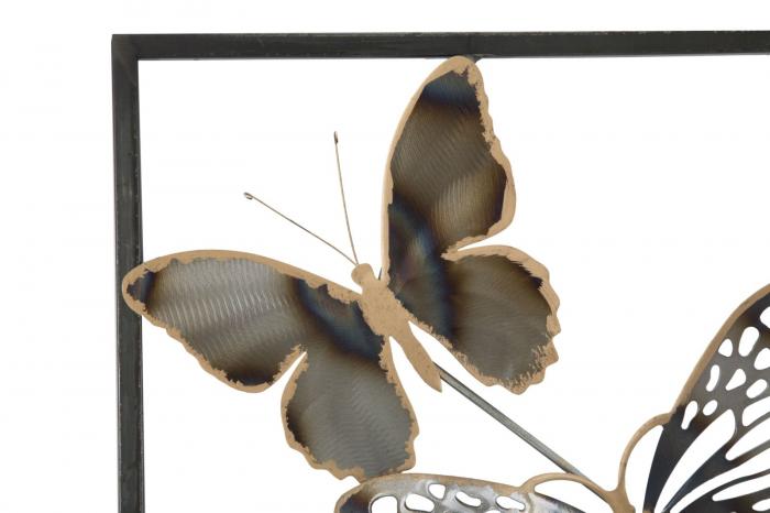 Decoratiune pentru perete BUTTERFLIES, 31X2.5X90 cm, Mauro Ferretti [4]