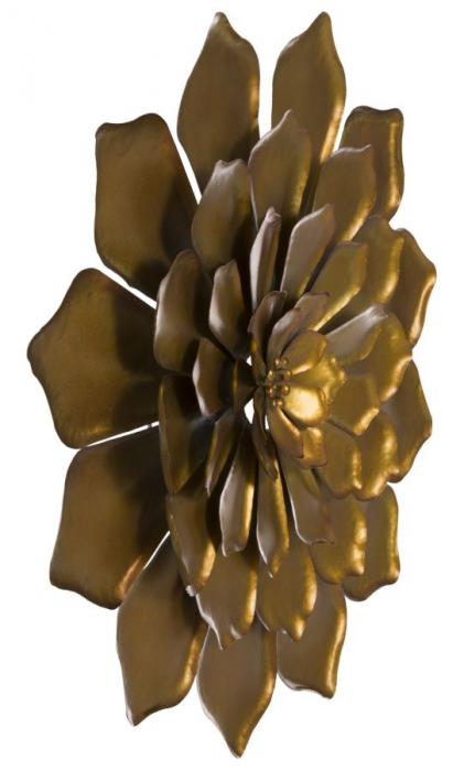 Decoratiune pentru perete FIORE GOLDY, 62.5X5.5 cm, Mauro Ferretti 4