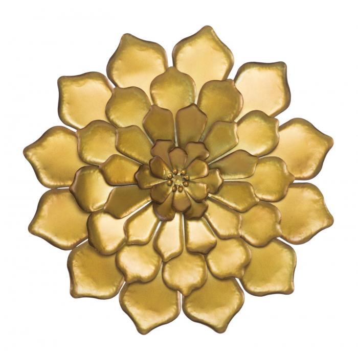 Decoratiune pentru perete FIORE GOLDY, 62.5X5.5 cm, Mauro Ferretti 0