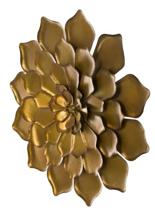 Decoratiune pentru perete FIORE GOLDY, 62.5X5.5 cm, Mauro Ferretti 5