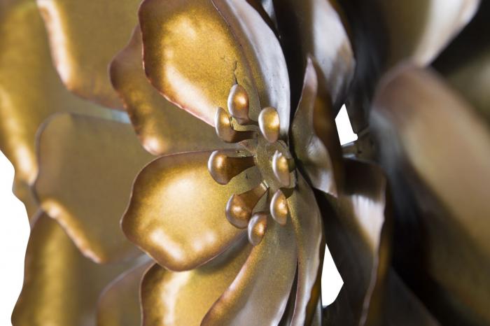 Decoratiune pentru perete FIORE GOLDY, 62.5X5.5 cm, Mauro Ferretti 1