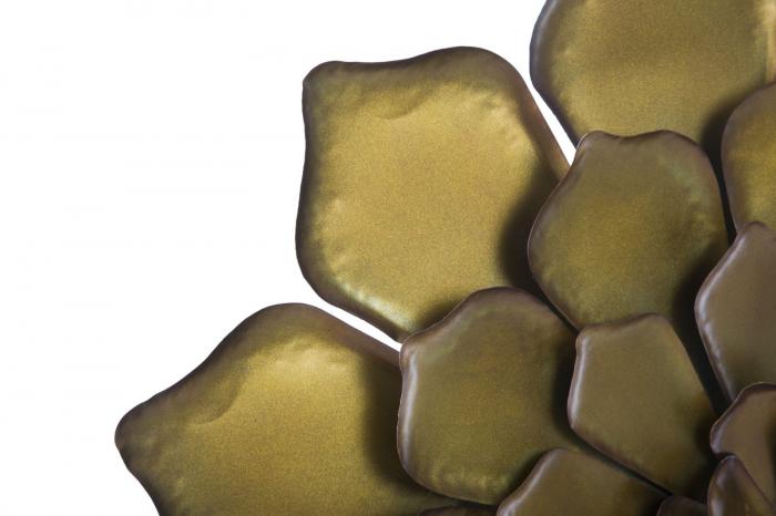 Decoratiune pentru perete FIORE GOLDY, 62.5X5.5 cm, Mauro Ferretti 3