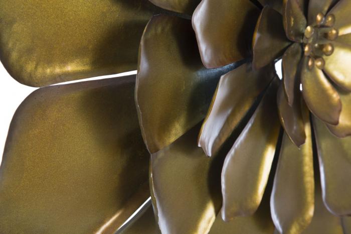Decoratiune pentru perete FIORE GOLDY, 62.5X5.5 cm, Mauro Ferretti 2
