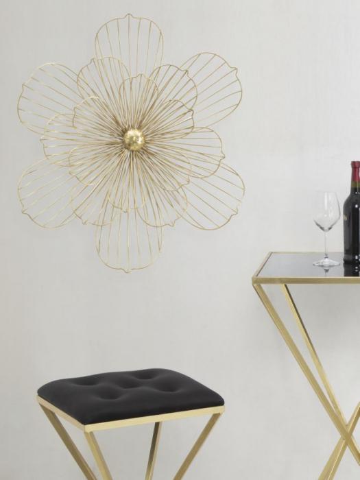 Decoratiune pentru perete FLOWERY STICK, 60X8X54 cm, Mauro Ferretti 4