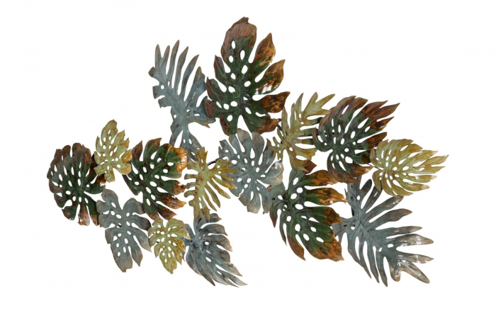 Decoratiune pentru perete FOGLIE, 129.50X6X67 cm, Mauro Ferretti 2