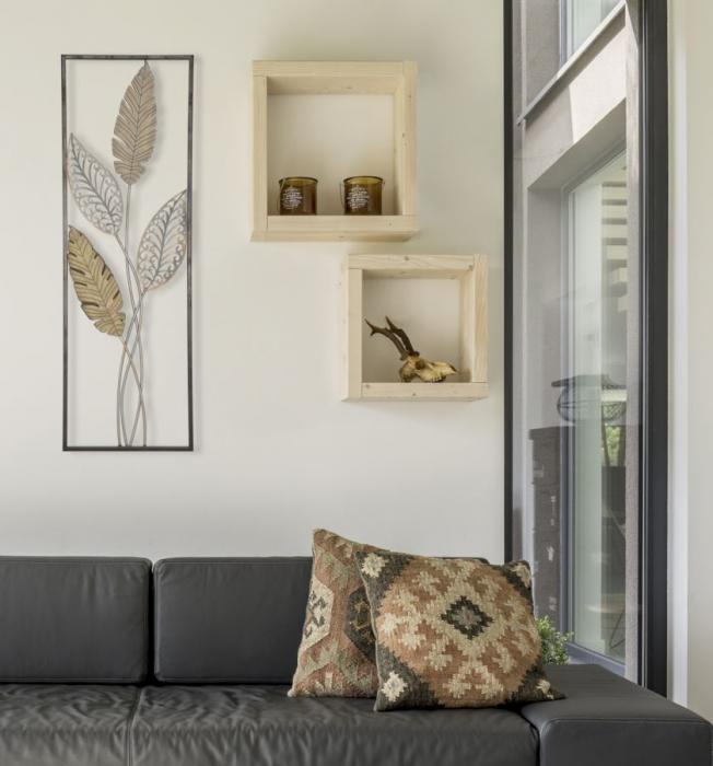 Decoratiune pentru perete FOGLIE 30.5X1.90X91 cm, Mauro Ferretti 6