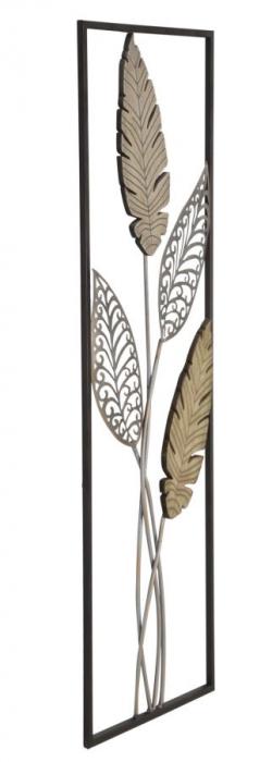 Decoratiune pentru perete FOGLIE 30.5X1.90X91 cm, Mauro Ferretti 1