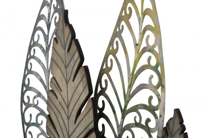 Decoratiune pentru perete FOGLIE 75X2.5X87 cm, Mauro Ferretti [4]