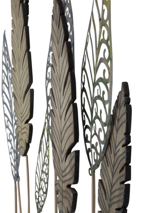 Decoratiune pentru perete FOGLIE 75X2.5X87 cm, Mauro Ferretti [3]