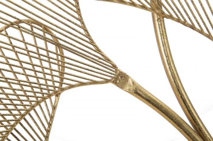 Decoratiune pentru perete GLAM LEAF, 79X5X68 cm, Mauro Ferretti [2]
