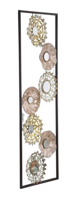 Decoratiune pentru perete GLISS, 31X2.5X90 cm, Mauro Ferretti 1