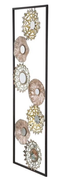 Decoratiune pentru perete GLISS, 31X2.5X90 cm, Mauro Ferretti 2
