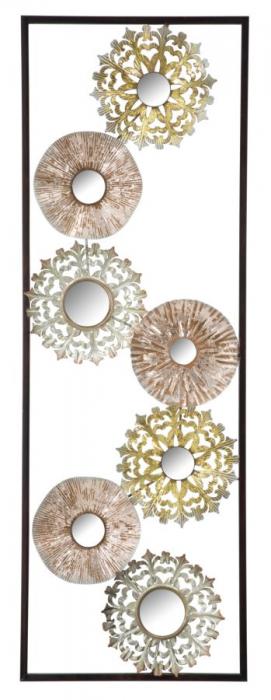 Decoratiune pentru perete GLISS, 31X2.5X90 cm, Mauro Ferretti 0