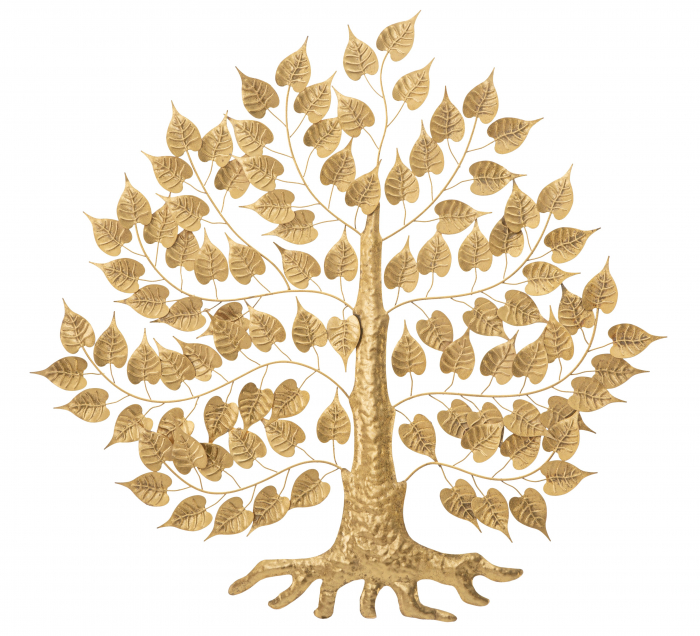 Decoratiune pentru perete GOXY GOLD CM 90X2,5X90, Mauro Ferretti [1]