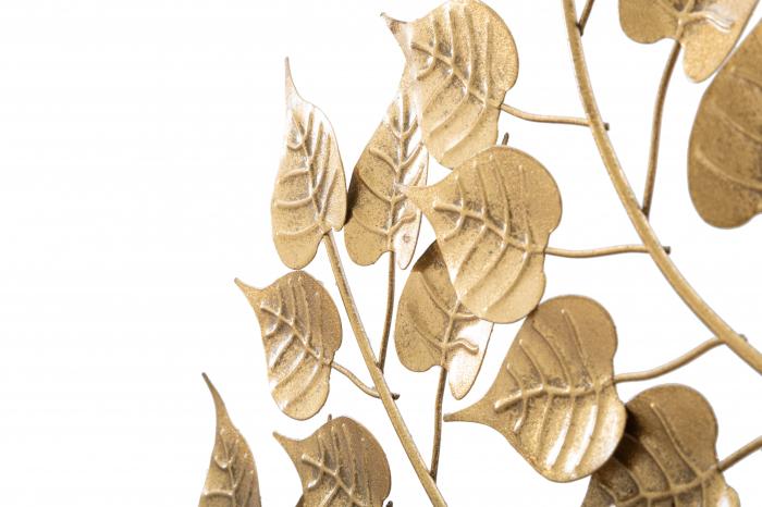 Decoratiune pentru perete GOXY GOLD CM 90X2,5X90, Mauro Ferretti [3]