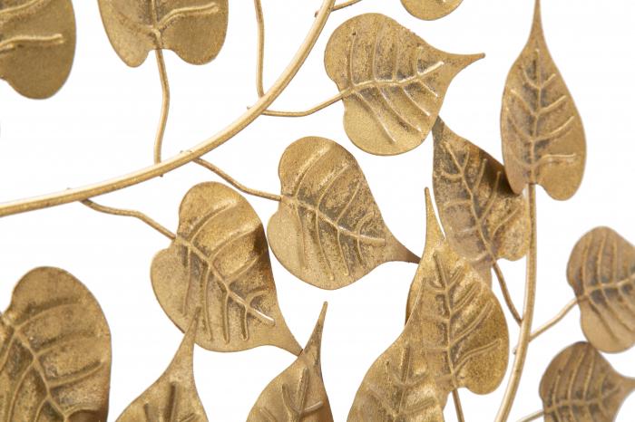 Decoratiune pentru perete GOXY GOLD CM 90X2,5X90, Mauro Ferretti [2]