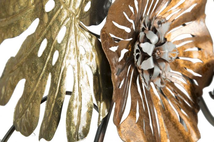 Decoratiune pentru perete LEAF, 117X7X74, Mauro Ferretti 4