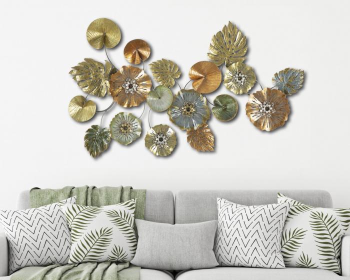 Decoratiune pentru perete LEAF, 117X7X74, Mauro Ferretti 6