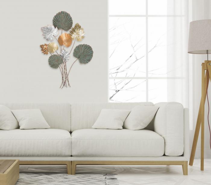 Decoratiune pentru perete LOP, 72.5X4X99 cm, Mauro Ferretti 7